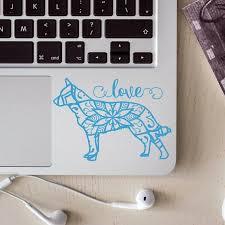 Blue Heeler Decal Dog Mandala Decal Australian Cattle Dog Red Heeler Car Decal Laptop Sticker Red Heeler Blue Heeler Mandala Decals