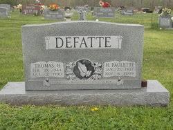 Paulette Hilda Hayes Defatte (1947-2009) - Find A Grave Memorial
