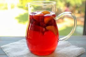 raspberry peach iced tea olga s
