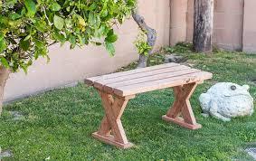 diy 2x4 bench how to make an indoor