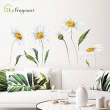 Daisy Wall Decal Buy Daisy Wall Decal With Free Shipping On Aliexpress