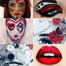 hearts costume glitter makeup kit