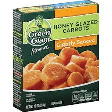 green giant steamers honey glazed