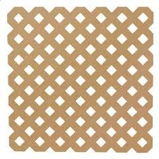 Veranda 0 2 In X 48 In X 8 Ft Cedar Privacy Plastic Lattice 79940 The Home Depot Plastic Lattice Lattice Decorative Screen Panels
