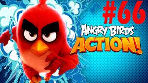 Angry Birds Action! Bird Island Level-66 Three Star Walkthrough ...
