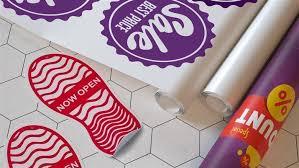 Floor Decals Custom Floor Decals And Vinyl Stickers Square Signs
