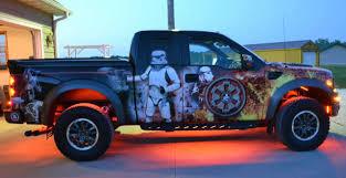 Yeah You Did Fan Wraps Truck In Star Wars Graphics Geekologie