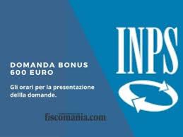 Domanda bonus 600 euro dal 1 Aprile - Fiscomania