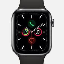 Apple Watch Series 5 GPS + Cellular Space Black Stainless Steel Case 44mm  With Space Black Milanese Loop – HODINKEE Shop