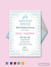 free baby naming ceremony invitation