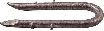 Amazon Com Primesource 1 1 2 In 8 Ga Double Barb Galvanized Fence Staple 1980 Ct 30 Lb 1 Each Home Improvement