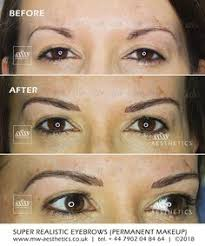54 best permanent makeup eyebrows