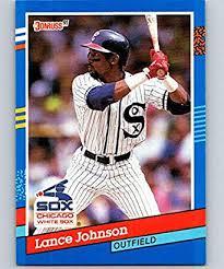 Amazon.com: 1991 Donruss #259 Lance Johnson White Sox MLB Baseball:  Collectibles & Fine Art