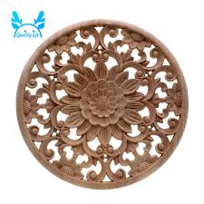 1 4pc Decorative Wood Carved Corner Decal Applique Furniture Cabinet Table Decor