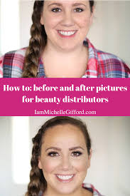 how to take before and after pictures