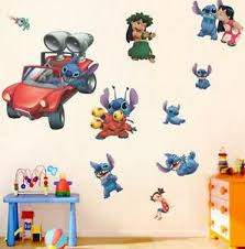 New Lilo Stitch Removable Wall Stickers Decal Kids Room Home Decor Us Seller Ebay