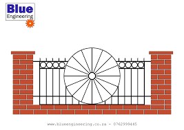 Custom Wrought Iron Fence Panels Made To Blue Engineering Durban Facebook