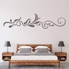 Vine Leaves Floral Headboard Wall Decal Sticker Ws 16045 Ebay