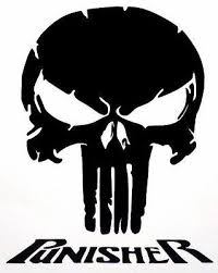 Details About Skull Punisher Cool Car Truck Window Vinyl Decal Sticker 12 Colors In 2020 Punisher Logo Skull Stencil Punisher
