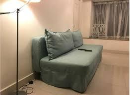 ikea ps sleeper sofa bed gräsbo white