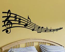 Music Wall Decal Etsy