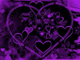 صور قلوب بنفسجية صور و خلفيات الوليد