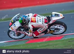 Francesco Bagnaia racing a moto 3 bike, 2013 Stock Photo - Alamy