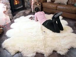 ikea sheep rug lambskin rug larger