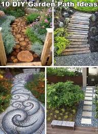 10 unique and creative diy garden path