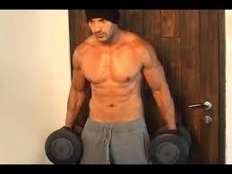 john abraham workout at his personal