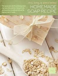 diy rose honey and almond oatmeal soap