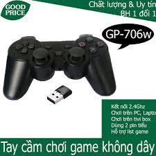 Tay cầm chơi game đôi không dây cho android box, tivi thông minh - HGP  706wd