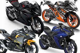 mau beli motor sport 250cc fairing