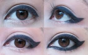 winged eyeliner tutorials and hacks