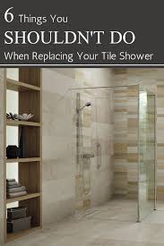 tile shower base wall panel