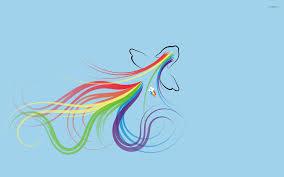 rainbow dash my little pony wallpaper