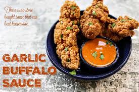 garlic buffalo sauce recipe foo