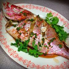 Ginger Scallion Red Snapper – The ...