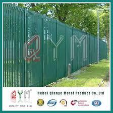 China Euro Style Free Standing Palisade Fence High Quality Best Price China Palisade Fence Fence Panel