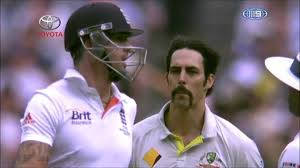 Mitchell Johnson vs Kevin Pietersen The Ashes 2013 - YouTube
