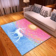 2020 Multicolour Deer 3d Large Size Carpet Cute Kids Room Game Crawl Mat Child Bedroom Play Floor Rug Custom Home Decor Rugs Carpet Depot Cheap Carpet Tiles From Sophine08 14 88 Dhgate Com