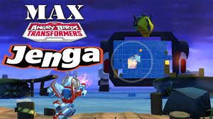 Angry Birds Transformers - Jenga Mode All Characters MAX Level ...