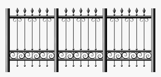 Transparent Iron Fence Png Clipart Clear Background Fence Png Png Download Kindpng