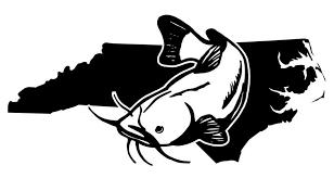 North Carolina Catfish Decal Sticker