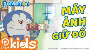 Phim hoạt hình Doraemon Tập 107 - Máy Ảnh Giữ Đồ, Vua Ếch Hoán Đổi ...