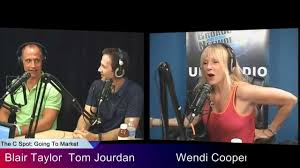 C SPOT TALK with Wendi Cooper - Blair Taylor Agent & Tom Jourden TV Host -  YouTube