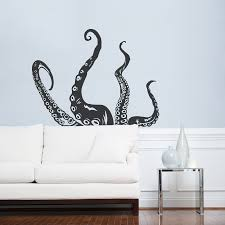 Tentacle Wall Decal Octopus Wall Art Wallums