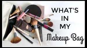 what s in my makeup bag niomi smart