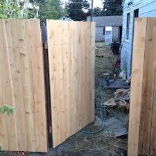 Hidden Gate Fence Gate Backyard Paradise Garden Gates