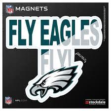 Philadelphia Eagles 6 X 6 Xpression Logo Full Color Car Magnet